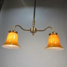 Höhenverstellbare Deckenlampe Messing Antik Stil Hängelampe Deckenleuchte