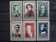Timbres de France N** Série N° 891 à 896 année 1951 TTB  Cote 60,00 €