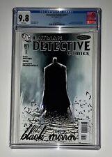 Detective Comics #871 CGC 9.8 White Pages (DC, 2011) Black Mirror Jock Cover HTF