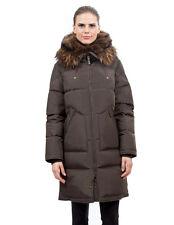 Goose Down Coat Jacket Parka w/ Raccoon sz US 16 / EU 48  $895 Пуховик Енот NWT