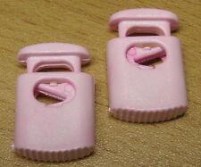 Kordelstopper Kunststoff rosa 24 x 16 x 6 mm