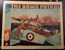 THE DAWN PATROL 1938 ORIGINAL LOBBY CARD - ERROL FLYNN