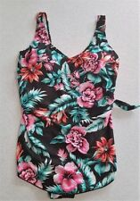 Polyester Floral Swimwear Swimdress for Women