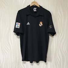 REAL MADRID 2001 2002 AWAY FOOTBALL SHIRT SOCCER JERSEY ADIDAS FIGO #10