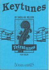 Keytunes for Violin - Sheila M Nelson