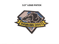 METAL GEAR DIAMOND DOGS EMBROIDERY IRON ON PATCH BADGE US Seller