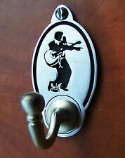 Elvis Presley Pose Coat / Key Hook (EXCLUSIVE DESIGN) Engraved English Pewter