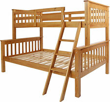 Children's Solid Wood Cabin Beds