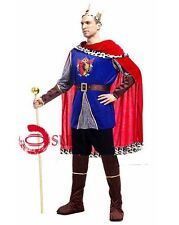MENS Fancy Dress Up Roman King Prince Outfit Halloween Costume Roma M L XL 2XL