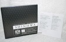 SHINHWA 13th album Vol. 13 UNCHANGING Touch Taiwan CD+56P+PVC Card