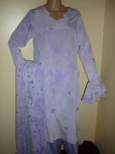 salwar shalwar kameez lengha anarkali indian asian suit sari churidhar lavendar