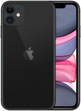 Apple iPhone 11 128GB ITALIA BLACK NERO LTE NUOVO Originale Smartphone iOS