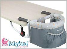 Seggiolino da tavolo bambino bimbo Pappa dai 6 mesi + colore grigio Safety1st