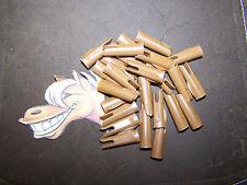 24 Cedar Wood Traditional Arrows  MERCURY INDEX SPEED  Nocks  5/16 LIGHT BROWN
