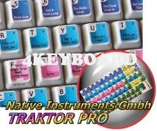 Native Instruments TRAKTOR PRO keyboard stickers