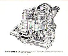 Austin Princess 2 2000 Cutaway view of O engine original Press Photo No. 286489