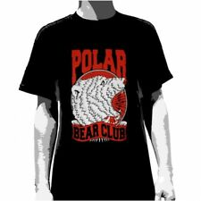 POLAR BEAR CLUB - Crest (Black) T-shirt - NEW - SMALL ONLY