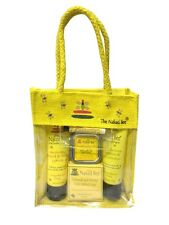 Naked Bee Orange Blossom & Honey Travel Kit Airline Approved Natural Carry Bag