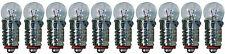 10x Glühlampe Glühbirne Kugellampe Lampe Birne Kugel Ersatz E5,5 E5 16V 0,04A
