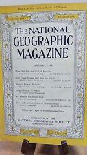 National Geographic Magazine Nat Geo January 1944 (NG30)