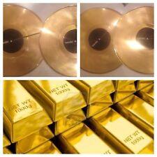 "GOLD Serato   Custom control GOLD vinyl 12""  Vinyl  Performance Series PAIR"