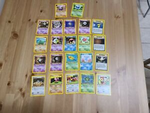 Pokémon Neo Discovery 1st Edition First - 22 Card Lot - NM Near Mint Unown