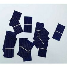 50pcs Solar Panel Sun Solar Cell Polycrystalline Battery Charger 0.5V 0.225W