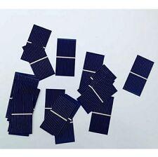 50pcs Pannello Solare Cella Solare Solare Policristallino Caricabatteria 0.5v 0.225w