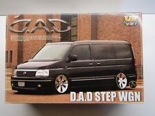 "Aoshima 1:24 Scale ""D.A.D."" Honda Step Wagon Model Kit New VIP American # 033760"