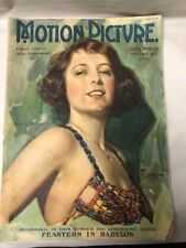 Motion Picture Magazine Dec 1922 Hollywood Entertainment Dorothy Phillips