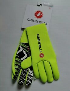 Castelli Diluvio C Gloves yellow--  2XL.