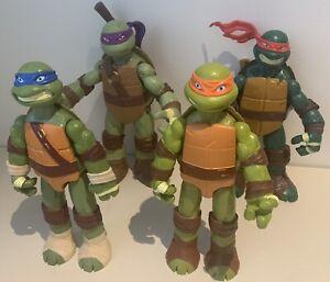 Teenage Mutant Ninja Turtles Action Figures Lot - Nickelodeon - 2012 - TMNT