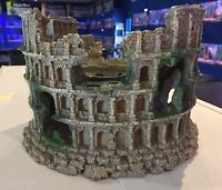 Large Roman Amphitheatre Ruin Fish Tank Aquarium Ornament