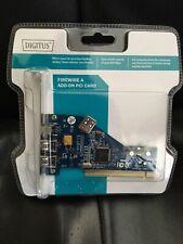 NEW! 4 Port Firewire Add-on PCI Card