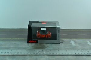 Schuco 452600400 Diecast Construction Compactor - Roller Orange 1:87 HO Scale