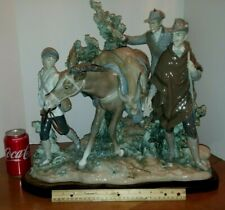 "Huge Ultra Rare Lladro ""A Successful Hunt"" #5098 #96 Mint Joe Ruiz"