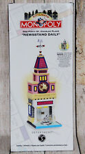 Department 56 *Citylights* Monopoly Series NEWSSTAND DAILY BUILDING Retired-1999