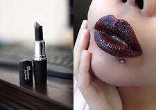 Black Gothic Vampire Cosplay Style Waterproof Long Lasting Lip Gloss Lipstick