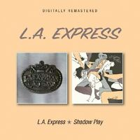 L.A. Express - L.A. Express/Shadow Play (2017)  CD  NEW/SEALED  SPEEDYPOST