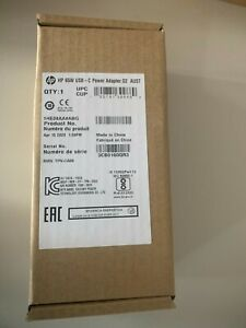 Genuine HP 65W USB-C AC (AUS) Power Adapter Charger 1HE08AA for Laptop
