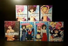 7x Steel Angel Kurumi Anime DVD #1-4 + Encore Steel Angel Kurumi 2 Vol 2.1 & 2.2
