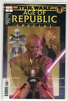 Star Wars Age of Republic Special Issue #1 Marvel Comics (1st Print 2019)