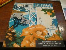 California via the Exposition Flyer - 1934