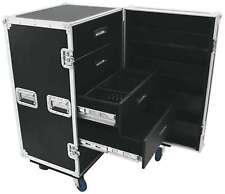 Schubladencase TSF-1 Roadiecase Hardwarecase Toolcase Transportcase Blue Wheels