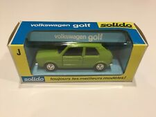 VW - Volkswagen Golf by Solido - MADE IN FRANCE