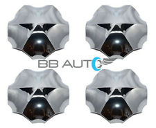 "FOR 1995-1999 OLDSMOBILE AURORA 16"" 6 SPOKE WHEEL HUB CHROME CENTER CAPS SET NEW"