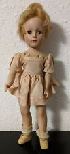 "Vintage 14.5"" inch Sleep Eyed Doll - Made In USA - blonde hair"