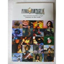 Final Fantasy IX  9 International Memorial Album Art Book SQUARE From Japan