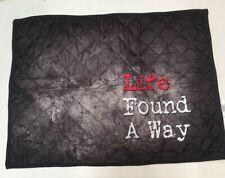"Jurassic Park ""Life Found A Way"" Quilted Pillow Sham - Standard nwot"