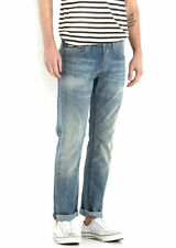 Regular Length Mid Rise Skinny, Slim Jeans Men's 36L